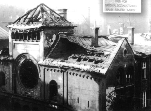 Knust synagoge i München, Krystalnatten 1938