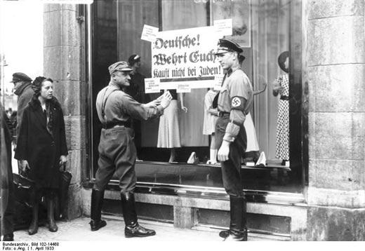 Boykot mod jødiske forretninger, Berlin 1933
