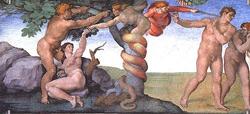 Michelangelo: Syndefald og uddrivelse