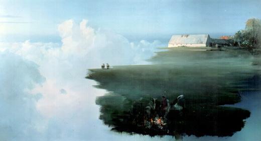 Poul Anker Bech: 'Sommernat'