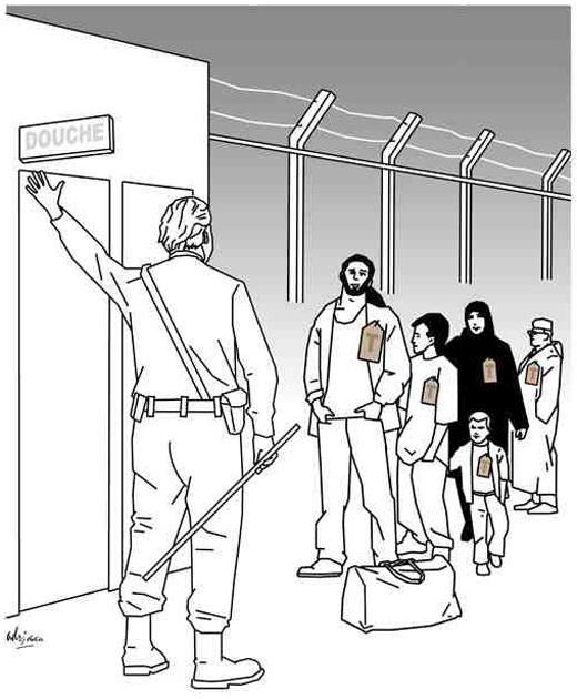 Karikatur af Geert Wilders (tegning: Adrian Soeterbroek, 2011)